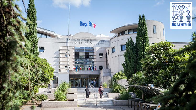 La Ville d'Argenteuil utilise la solution RH Horizontal Software