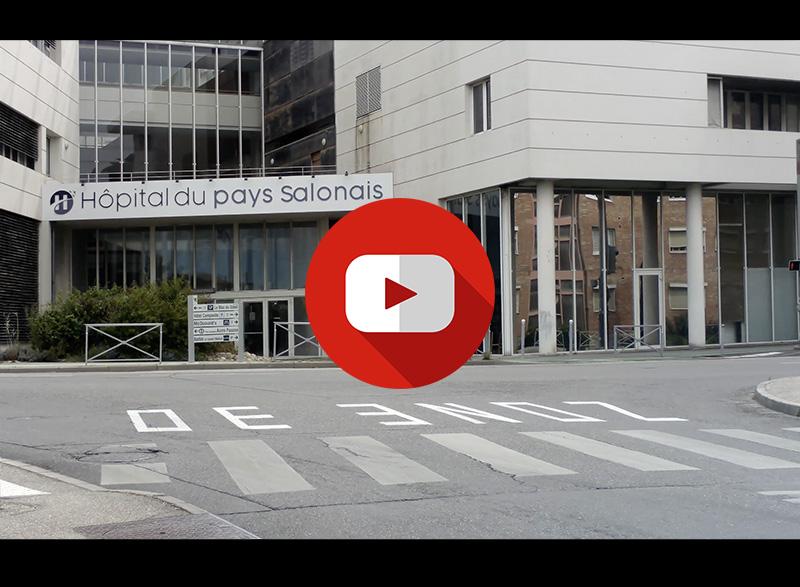 cas clients vidéo de l'hôpital du pays salonais